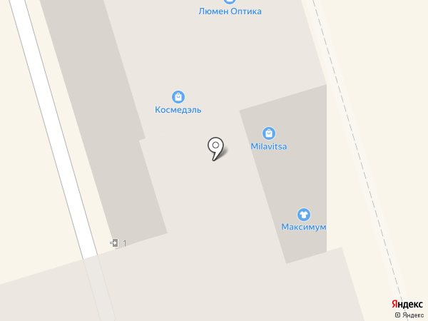 Эрос на карте Ростова-на-Дону