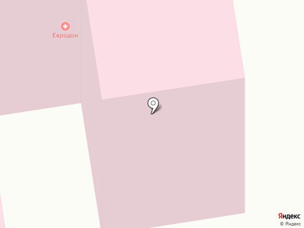 Женская консультация на карте Ростова-на-Дону