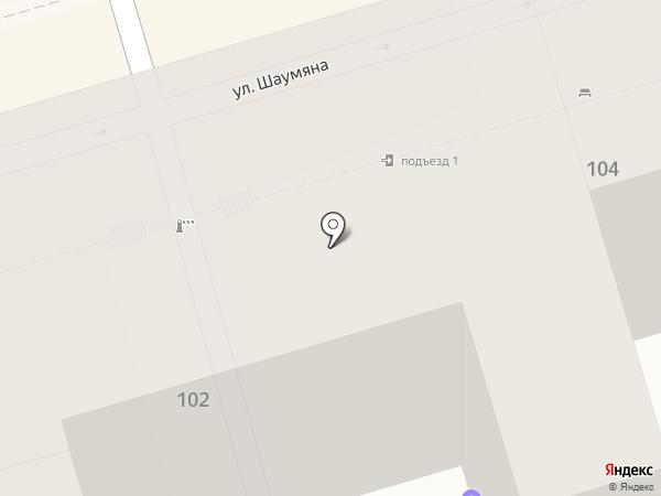 ВСК, САО на карте Ростова-на-Дону