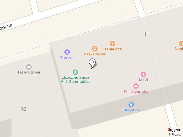 ТЕХ-СЕРВИС на карте Ростова-на-Дону