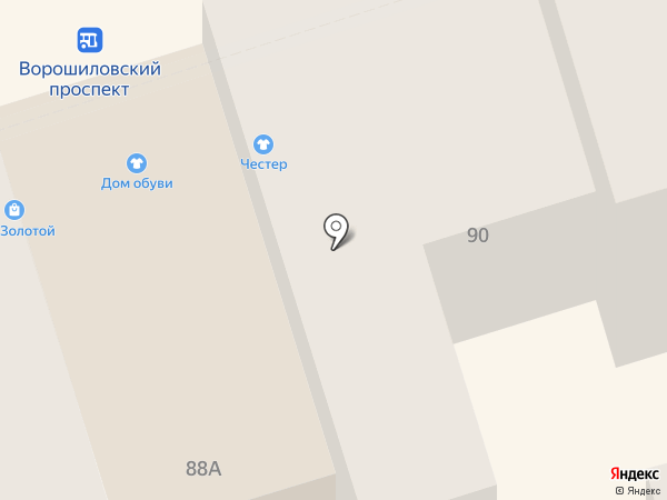 Chester на карте Ростова-на-Дону