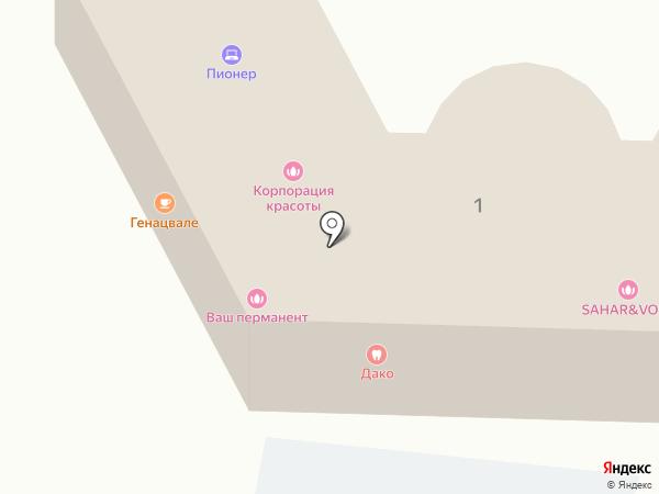 Сочи на карте Сочи