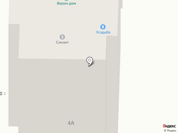 Усадьба на карте Рязани