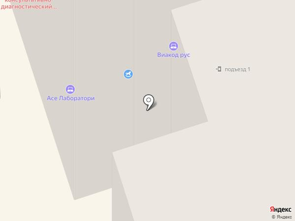 Мобильная Медицина на карте Ростова-на-Дону
