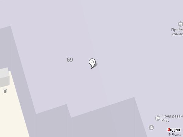 Академия на карте Ростова-на-Дону