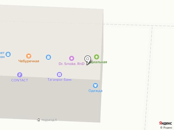 Банк Таатта на карте Ростова-на-Дону
