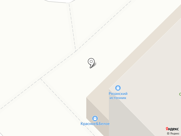 Союз на карте Рязани