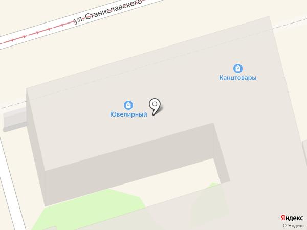 Комиссионный магазин на карте Ростова-на-Дону
