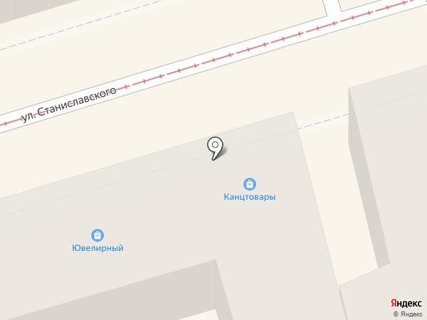 Модная лавка на карте Ростова-на-Дону