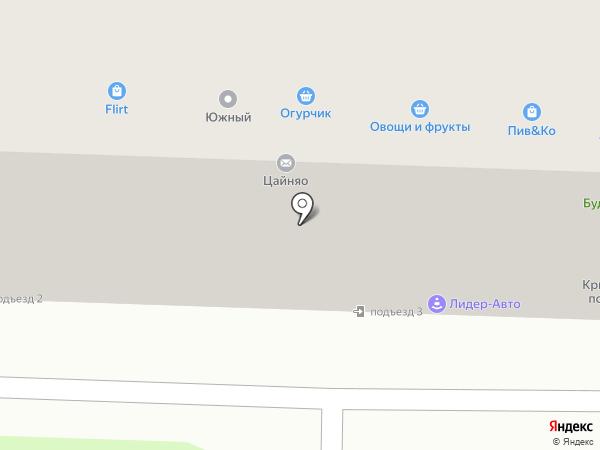Канц-Мода на карте Ростова-на-Дону