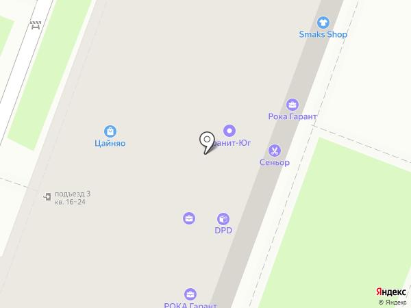 Центр МТ на карте Ростова-на-Дону
