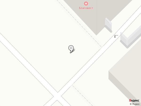 Благовест на карте Рязани