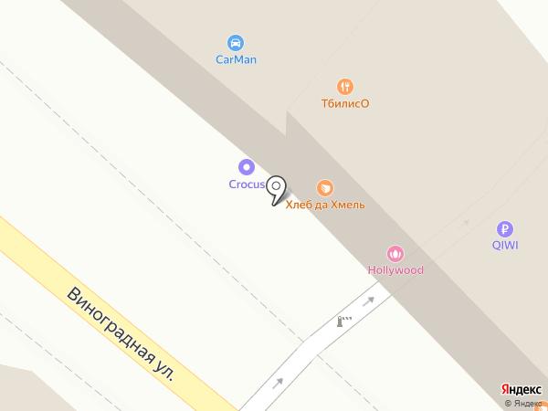 Старый Эривань на карте Сочи