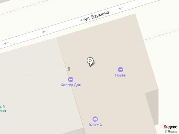 Адвокатский кабинет Маловой Е.Г. на карте Ростова-на-Дону