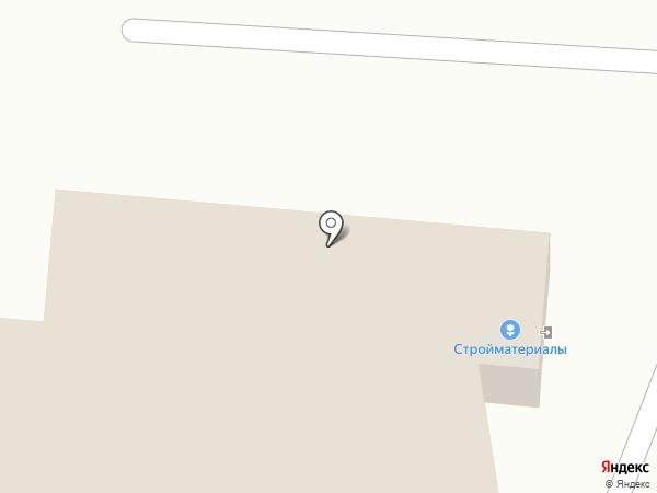 Магазин отделочных материалов на карте Рязани