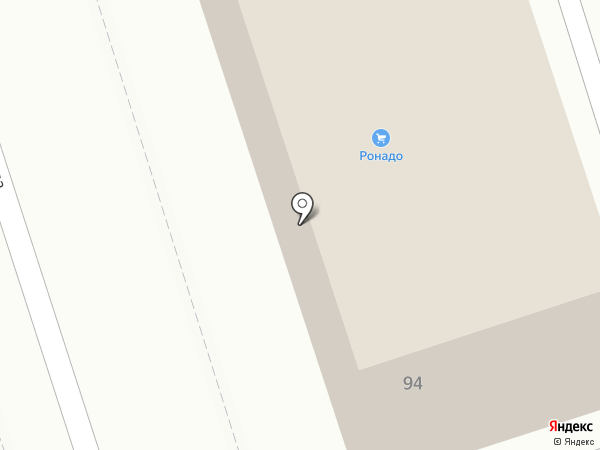 Нейтрино на карте Ростова-на-Дону