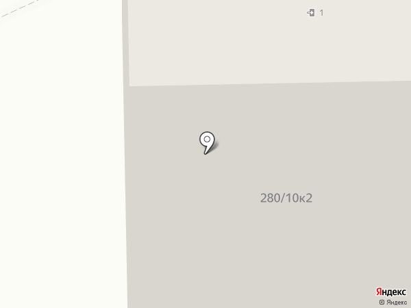 Южный берег-2 на карте Батайска