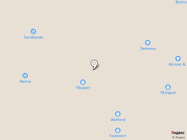 Эльдорадо на карте Ростова-на-Дону