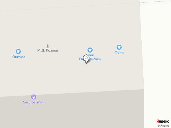 Тамбовчанка на карте Рязани