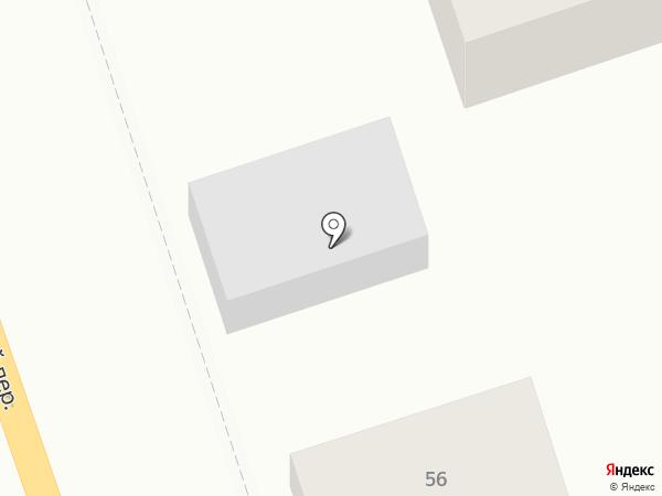 Алло на карте Ростова-на-Дону