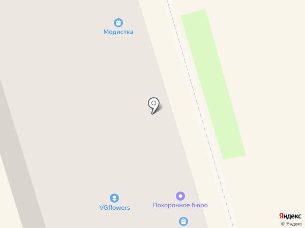 Парадиз на карте Ростова-на-Дону