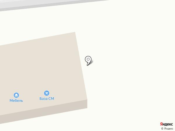 База СМ на карте Батайска