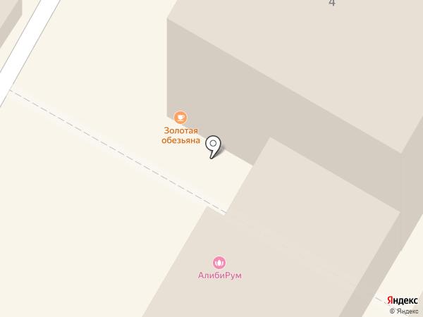 Золотая обезьяна на карте Сочи