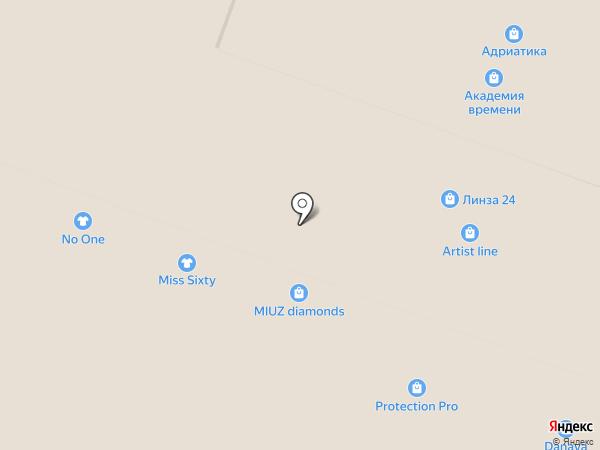 Бронницкий ювелир на карте Ростова-на-Дону