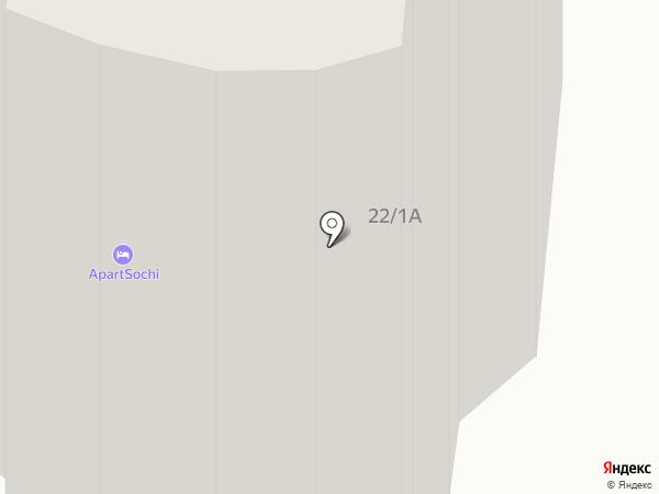 Home Hotel на карте Сочи