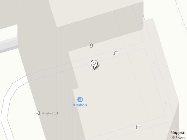 Юнипак Ростов на карте Ростова-на-Дону