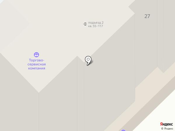 Торгово-сервисная компания на карте Рязани