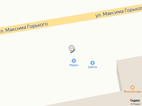 Магазин цветов на карте Батайска
