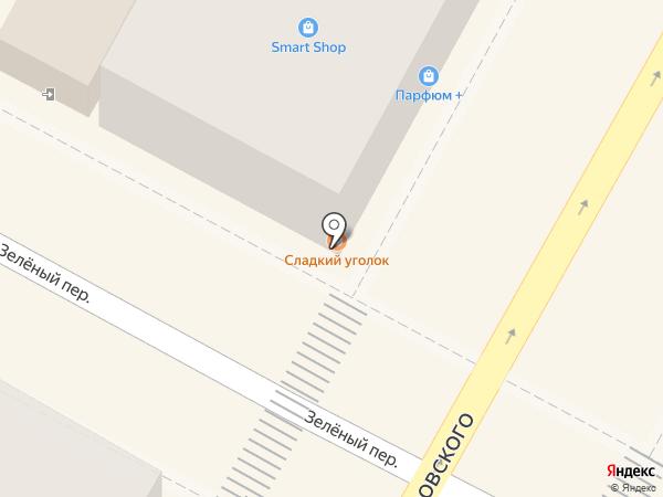 Сладкий уголок & Букет на карте Сочи