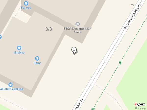 Корица на карте Сочи
