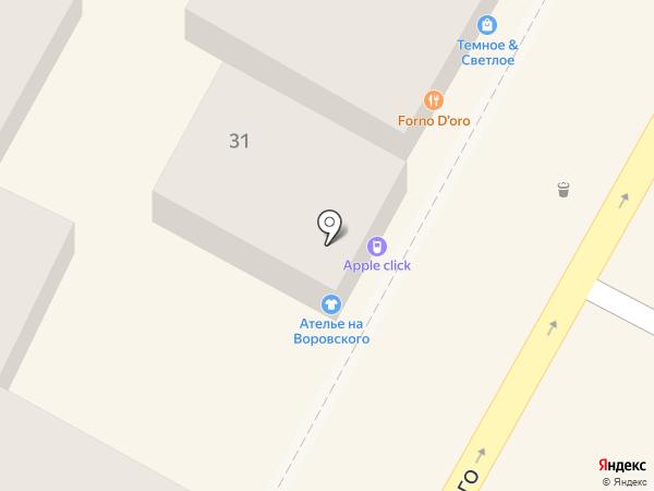 Ниточка на карте Сочи