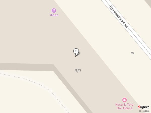 Шафран на карте Сочи