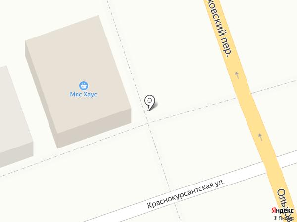 Мяс Хаус на карте Ростова-на-Дону