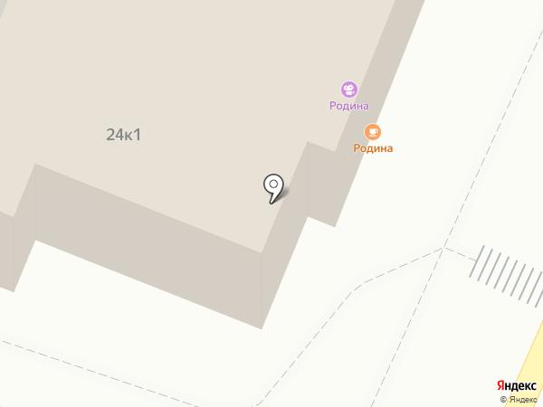Родина на карте Сочи