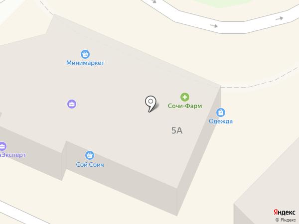 Хостел на Цветном бульваре на карте Сочи