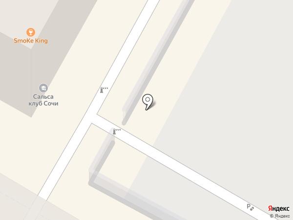 Автопарковка на карте Сочи