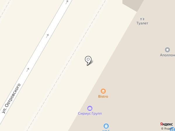 Флер на карте Сочи