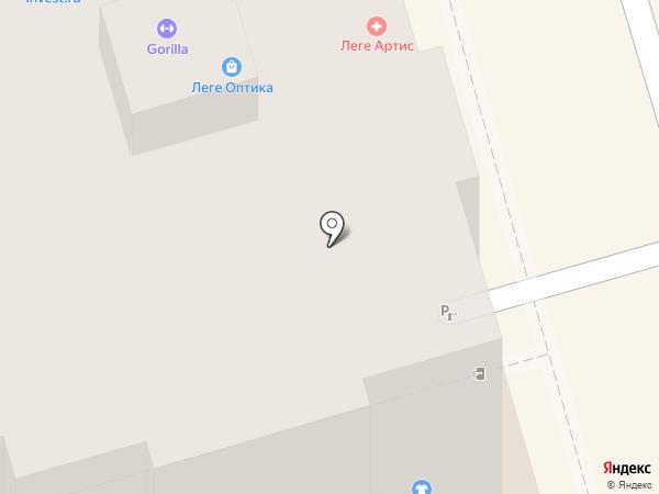 Кабинет гематолога Иващенко на карте Ростова-на-Дону