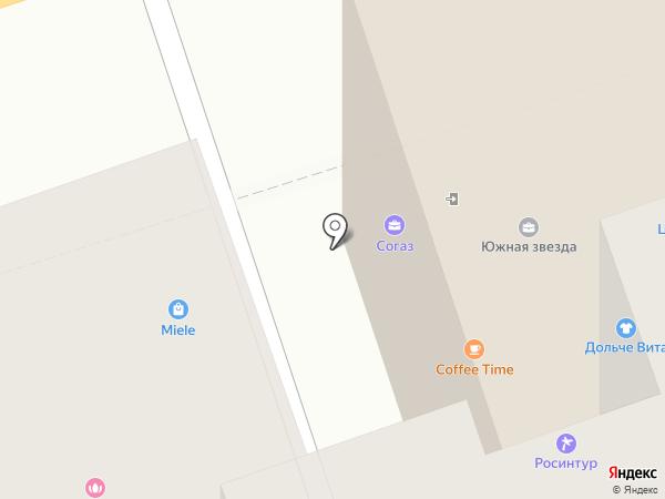 Адвантаж на карте Ростова-на-Дону