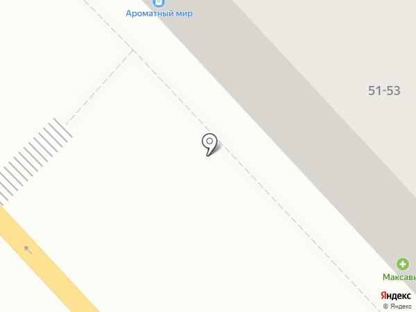 Магазин текстиля на карте Рязани