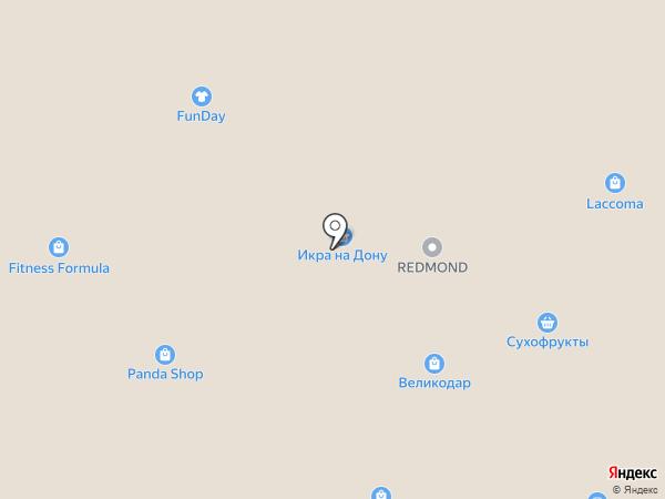 TerraКот на карте Ростова-на-Дону