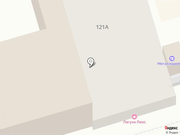 Лагуна Lux на карте Ростова-на-Дону