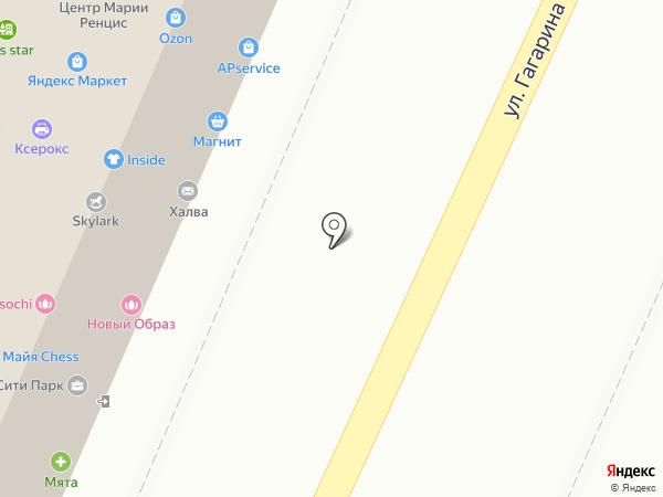 Мособлбанк, ПАО на карте Сочи