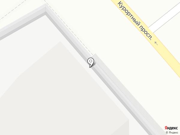 Дым на карте Сочи