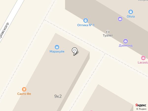 SANTA FE на карте Сочи