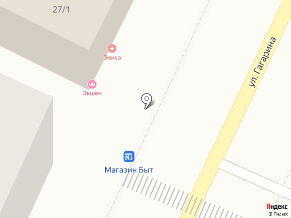 ЭЛИСА на карте Сочи